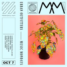 music monday ft. plant ! design by ben sifel