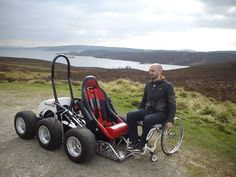 The HexHog, A Six-Wheeled All-Terrain Wheelchair to Give Off-Road Access to Anyone.  >>> See it. Believe it. Do it. Watch thousands of spinal cord injury videos at SPINALpedia.com