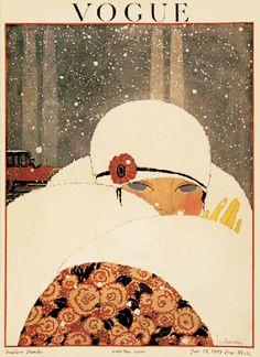 January 1919 Vogue magazine cover