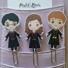 Harry Potter Planner Clip Planner Bookmark Hermione Granger Ron Weasley Planner Accessories Kikki K Filofax Planner