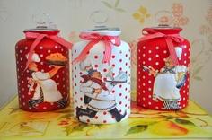 Mason Jar Wine, Mason Jar Crafts, Bottle Crafts, Bottle Painting, Bottle Art, Tin Can Crafts, Diy And Crafts, Bottles And Jars, Glass Jars