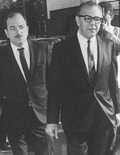 Underboss Philip Testa & Boss Angelo Bruno of the Philadelphia Crime Family.