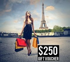$ 250.00 Study Abroad Gift Voucher!