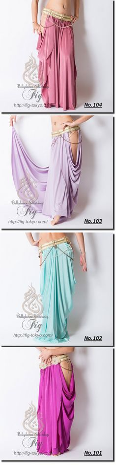 Draped Skirt / ChitLom31. × Miya Miya / Fig Belly Dance #miyamiya #figbellydance #bellydancewear #worldwideshipping