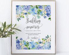 Hydrangea wedding   Etsy Blue Hydrangea Wedding, Creative, Handmade, Etsy, Hand Made, Handarbeit
