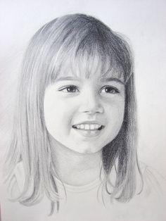 Adriana. 9X12 Graphite portrait