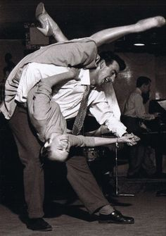 Fifties swing dancing (this isn't funny I just put it on this board xD it says MOSTLY funny for a reason)