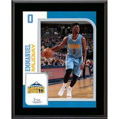 b5bb48b02dc Emmanuel Mudiay Denver Nuggets Fanatics Authentic 10.5