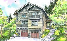 Ridgeview 30-496 - Narrow Lot Home Plan from Associated Designs