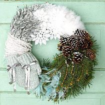 Jute Yarn Wreath/Welcome by LizzyDesigns on Etsy na Stylowi.pl