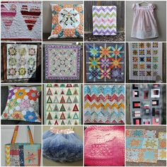 Sew Inspired.  Good free motion quilting ideas and other great projects here.  2012 Projects by vickivictoria, via Flickr