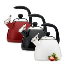 Farberware® Bella 2 1/2-Quart Tea Kettle - BedBathandBeyond.com $29.99