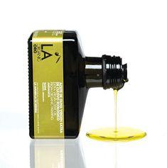 Philippe Starck–Designed Olive Oil Bottles  LA Organic olive oil, $12.99.