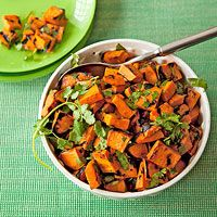 Sweet Potato Salad|  http://www.rachaelraymag.com/recipe/sweet-potato-salad/