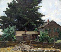 Dixon (1875-1946), Maynard - Dixon, Maynard 1875-1946 - Lone Pine,  o/c