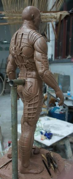 Concept Modeling For Easy Clay Sculptures: – Picture : – Description Prometheus Engineer wip – Statue Forum -Read More – Easy Clay Sculptures, Sculpture Clay, Art Carved, Anatomy Reference, Character Design, Character Concept, Creature Design, Clay Art, Prometheus Engineer