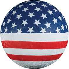 Franklin Sports 8.5 Inch USA Playground Ball. Textured surface pattern for superior grip. Ideal for square, kickball and other fun games. 8.5 inch diameter. Fun for all ages!.