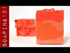 Cold Process - The Perfect Red Color {for cold process soap} S2W44 w/ Recipe