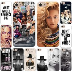 Beyonce Giselle Knowles Hard White Cover Case for iPhone 7 7 Plus 6 6S Plus 5 5S SE 4 4S