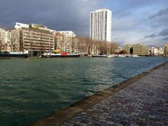 Paris, bassin de la Villette #Paris19