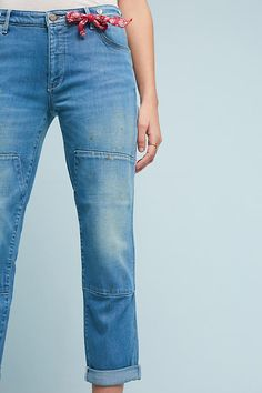 Slide View: 1: Pilcro Carpenter Mid-Rise Relaxed Jeans