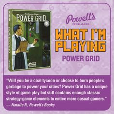 How will you power your city? http://powells.us/1oHdcJ4
