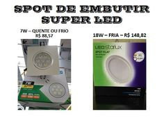 spot embutir super led