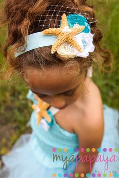 Under the Sea Starfish Headband Fascinator Reserved for Shannon. $29.00, via Etsy.