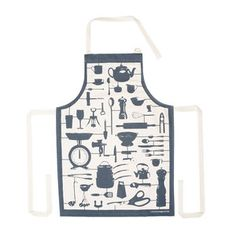 Airfix Kitchen Apron Gray, $25, now featured on Fab.
