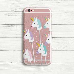 Niedlichen Einhorn Popsicle iPhone und Samsung von DecorusCases