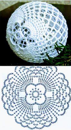 Crochet Snowflakes, Crocheting, Diy And Crafts, Christmas Decorations, Crochet Hats, Xmas, Knitting, Bell Jars, Towels