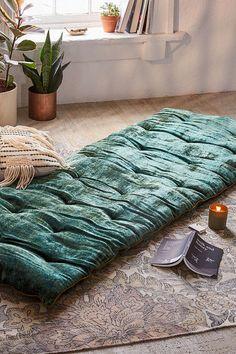 Urban Outfitters Velvet Meditation Mat