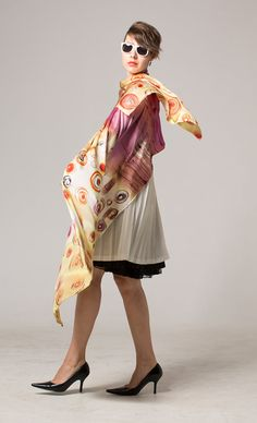 Hey, I found this really awesome Etsy listing at https://www.etsy.com/listing/186097117/silk-satin-shawl-paint-by-hand-hand