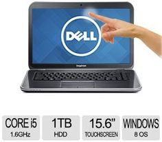 Dell Inspiron 15R Intel Core i5 8GB Memory 1TB HDD 15.6 Touch Notebook Windows 8 at TigerDirect.com