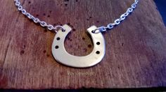 Today I made a Horseshoe pendant in the workshop!