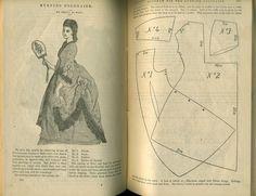 Peterson's 1872 polonaise pattern