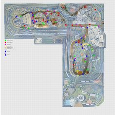 Faller Car System roads, controls and sensors