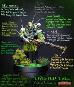 Behind the Twisted Tree Painting Tips, Figure Painting, Painting Techniques, Painting Tutorials, Warhammer Paint, Warhammer Models, Warhammer 30k, Twisted Tree, Fantasy Model