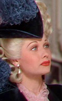 Lucille Ball as Madame du Barry