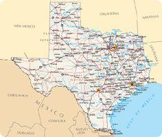 Carte Texas