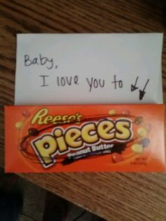 Just a simple suprise for my man after a long day <3