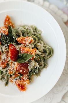 Garlic Parmesan Zucchini Noodles | KBStyled | Nashville Fashion Blog