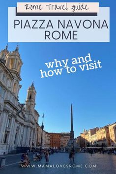 Travel guide to Rome's famous Piazza Navona Italy Travel Tips, Rome Travel, Travel Guide, Travel Destinations, Rome Attractions, Piazza Navona, European Destination, Best Hotels, Travel Inspiration