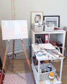 "9 tykkäystä, 1 kommenttia - Jenni Tuulia (@jennituuliaart) Instagramissa: ""Ok, I said I would share a little bit of my creative journey. So here's the first part.  I didn't…"" My Art Studio, Inside Me, Jenni, Magazine Rack, Journey, Storage, Creative, Furniture, Home Decor"