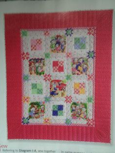 Quick quilts may 2014 -kitty cat picnic