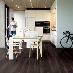 Fumed oak dark, laminates planks | Inspiring interior