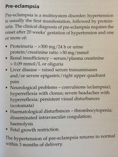 "Pre-eclampsia    Source - Llewellyn-Jones ""Fundamentals of obstetrics and gynecology"""