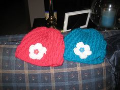 Hats for the twins