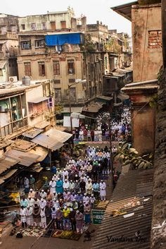 """On the streets of Calcutta, Friday prayers.  """"Love comes before obedience."""" ~Shaykh Ahmed Babikir"""