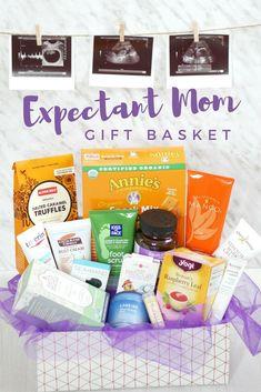 Gift Basket Ideas for Expectant Mom Pregnancy pregnancy gifts New Mommy Gifts, Diy Gifts For Mom, Gifts For New Parents, Gifts For Teens, New Mommy Gift Basket, Teen Gifts, Basket Gift, Pregnancy Gift For Friend, Pregnancy Gift Baskets